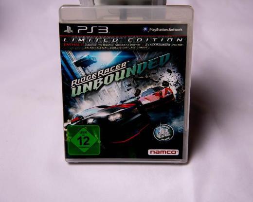 Ridge Racer Unbounded -- Limited Edition Sony PlayStation 3 - Emstek