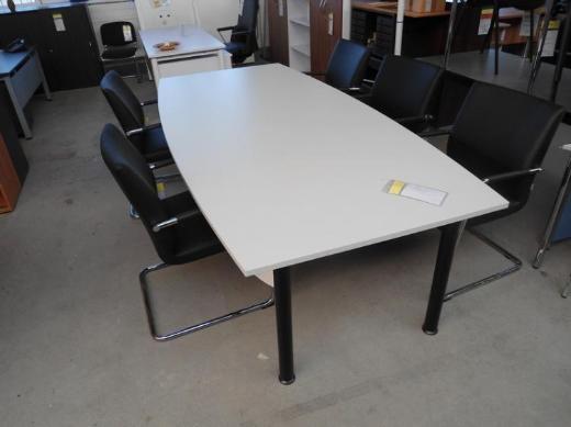 Konferenztisch XP in Bootsform 250, Besprechungstisch, Büromöbel - Bremen