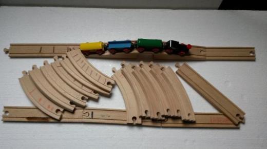 BRIO Holzeisenbahn Bahn-Acht - Thedinghausen