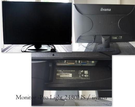 wenig gelaufender Monitor 24 Zoll, siehe FOTO - Garrel