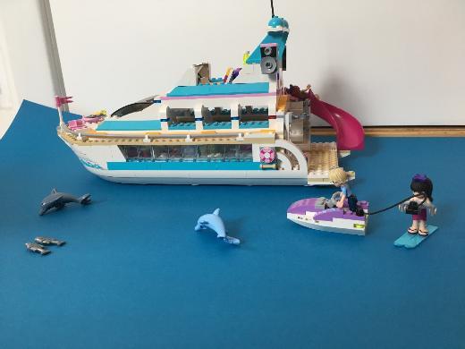 Lego friends Yacht, sehr gut erhalten