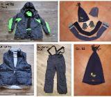Winterkleidung Jacke Skihose Mützen Schal Handschuhe Gr. 134-146 - Bremen