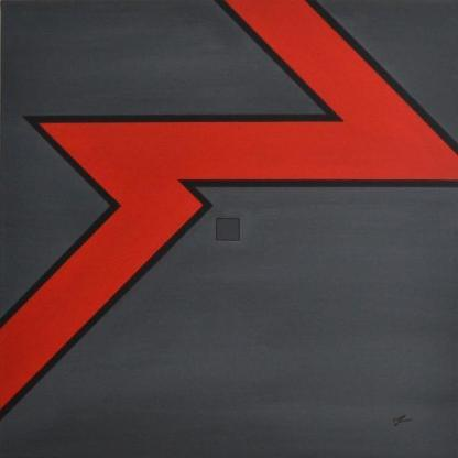 """Acrylbild """"Untitled  catalogue 2013 - 102 Remaster"""" von Ramke.Art - Bremen"""