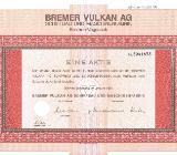Aktien des Bremer Vulkan - Bremen Obervieland