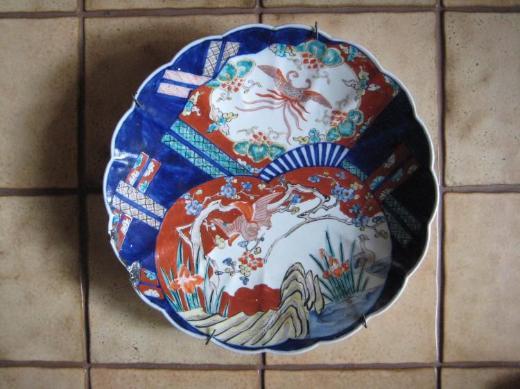 Wandteller aus Keramik - Bremen