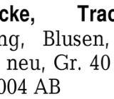 Pelzmantel/-Jacke, Tracht -