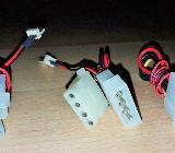 3 x Stück PC Interne Stromkabel mit Molex Lüfter-Kabel 33cm Länge - Verden (Aller)