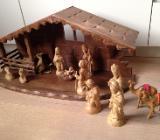 Weihnachtskrippe aus Holz - Bremen