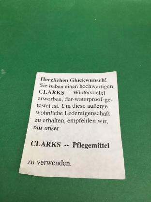 Clarks Fettlederstiefel für Kinder, neu und ungetragen! - Osterholz-Scharmbeck