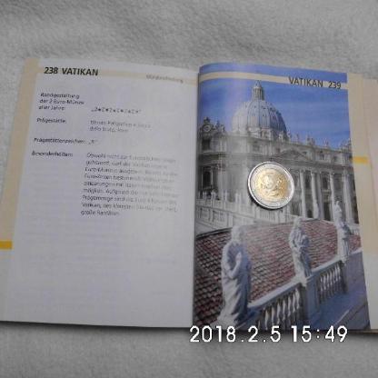2 Euro Vatikan 2013 - Bremen