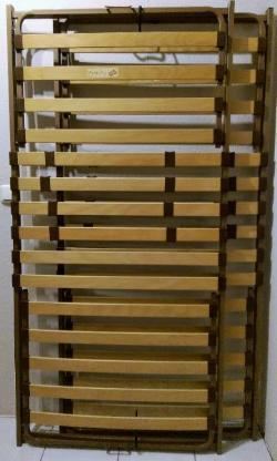 2 x Lattenrost 90/190 Metallrahmen Kopf- Fußteil höhenverstellbar - Verden (Aller)