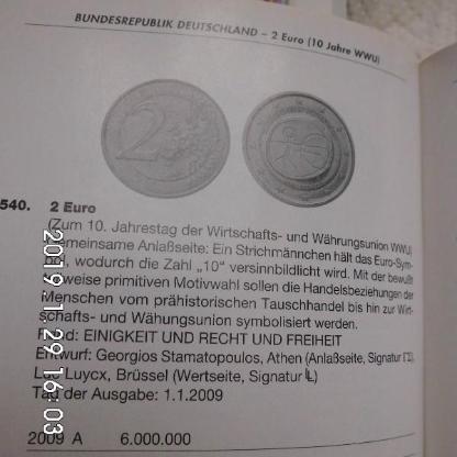 2 Euro WWU Stempelglanz F - Bremen Woltmershausen