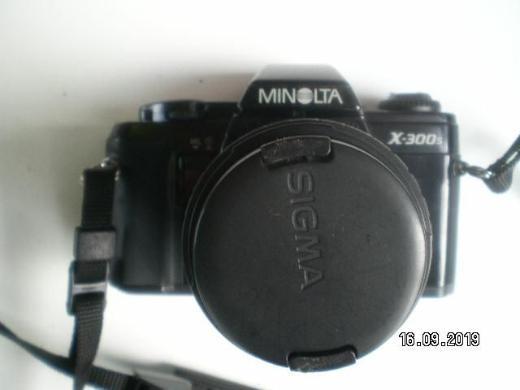 minolta x-300s mit sigma opjektiv - Oldenburg (Oldenburg)