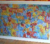 Riesig!!! Jasper Johns - Map - Gerahmt unter Glas ca.182 x 123 cm - Bremen