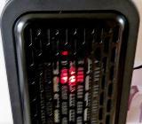 Mini-Steckdosen-Heizlüfter, 350 Watt, Timer, 2stufig, LED-Display, unbenutzt mit Anleitung in OVP - Diepholz