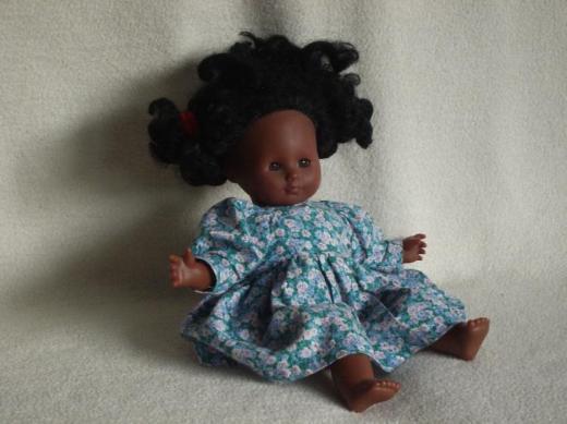 Puppe, afrikanisches Mädchen, - Osterholz-Scharmbeck