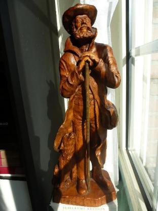 Holzfigur - Ottersberg