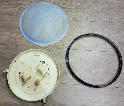 Deckenleuchte bzw. Wandleuchte 32 cm Durchmesser - Verden (Aller)