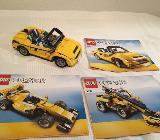 Lego Creator 5767 - gelbes Cabrio 3in1 - Bremen Schwachhausen