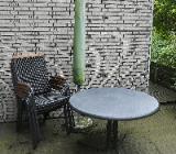 Gartentisch (100 cm), 6 Gartenstühle, Sonnenschirm *GRATIS* - Bremen Borgfeld