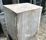 großer Eichensitzklotz,Holzklotz - Oyten