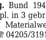 Briefmarkenslg. Bund 1949 - Ottersberg