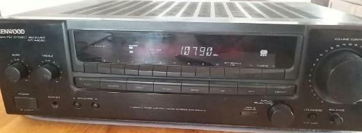 Kenwood KR-A4060 Stereo AM-FM Receiver in schwarz - Verden (Aller)