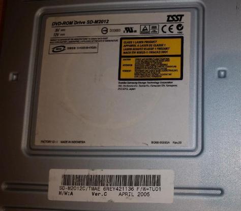 Toshiba DVD-ROM Laufwerk Drive SD-M2012 DVD/R IDE - Verden (Aller)