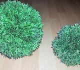 2 x Stück Plant Ball, künstliche Mooskugeln,13cm / 19cm Durchmesser - Verden (Aller)