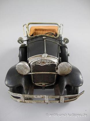 Blechspielzeug - Cabrio - Blechauto - Antik - 25 cm - Scheeßel
