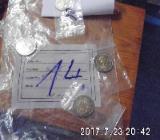 4 Stück 2 Euro Münzen Stempelglanz 14 - Bremen