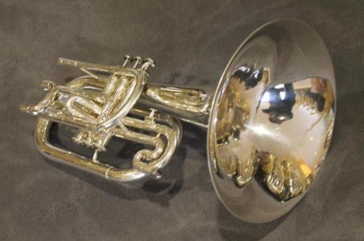 Jupiter Eb/Es - Mellophon, Modell 450 S mit Koffer und Mundstück - Bremen Mitte