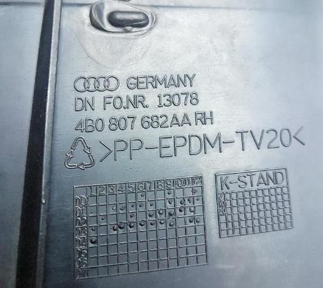 Audi A4 Blende Luftgitter 4BO 807 682 AA RH - Verden (Aller)