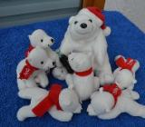 7 x Stück Coca Cola Bären Weihnachtsbären Polarbären - Verden (Aller)
