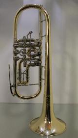 J. Scherzer Profi - Konzert -Trompete in C, Mod. 8217WGT-L mit Doppeltrigger Neuware inkl. Koffer