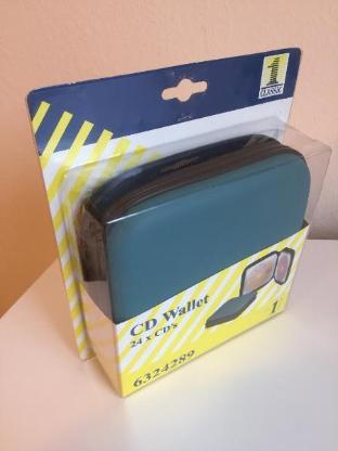 Hochwertige CD/DVD Taschen / Wallet für 24 und 48 CD's - Neu - - Bremen