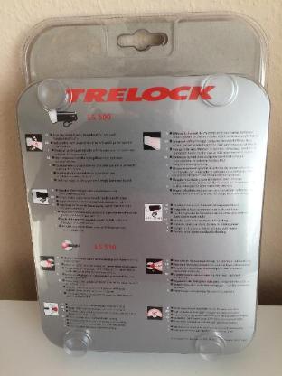 Hochwertige Trelock Fahrrad Akkubeleuchtungs-Set LS 500 - Bremen