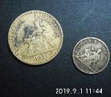 Frankreich 2 Francs und 50 Centimes 1921 1922 - Bremen Woltmershausen