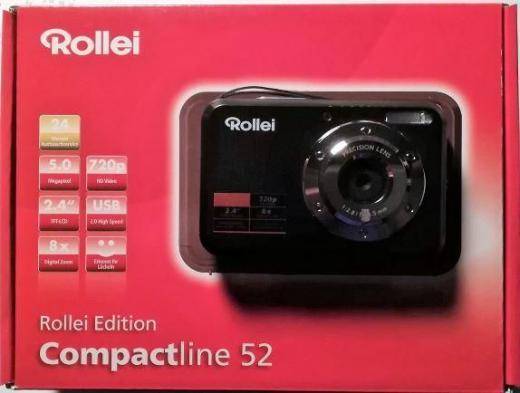 Rollei Compactline 52 Schwarz - Verden (Aller)
