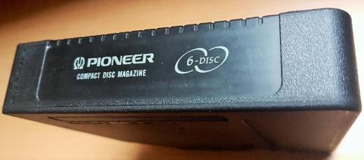Pioneer 6-disc Magazin für CD-Wechsler - Verden (Aller)