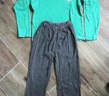 Schlafanzug Pyjama Gr. 140 von Werder Bremen - Bremen
