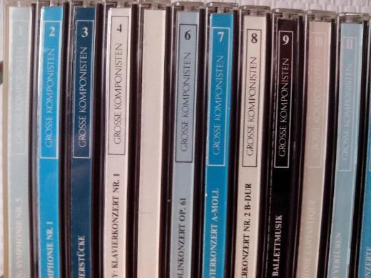 Große Komponisten und ihre Musik -CD-Sammlung - Bremen