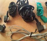 11 x Stück Telefon Modular Kabel RJ11 / RJ45 Western Stecker TAE F/N ISDN,DSL Stecker ISDN, DSL - Verden (Aller)