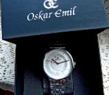 Ungetragene Design-Marken-Armbanduhr, komplett aus Edelstahl, in Uhr-Box! - Diepholz