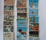 Olympia 1974 Sammelbilder (26 Stück) - Syke