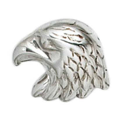 Einzel-Ohrstecker Adler 925 Sterling Silber rhodiniert   Einzel-Ohrstecker Adler 925 Sterling Silber rhodiniert - Holdorf