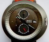 Neuer Marken-Chronograph mit Datumanzeige, Leder-Armband, noch unbenutzt, Batterie leer! - Diepholz