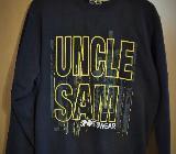 Uncle Sam Herren Sweatshirt Pullover schwarz Gr XL - Verden (Aller)