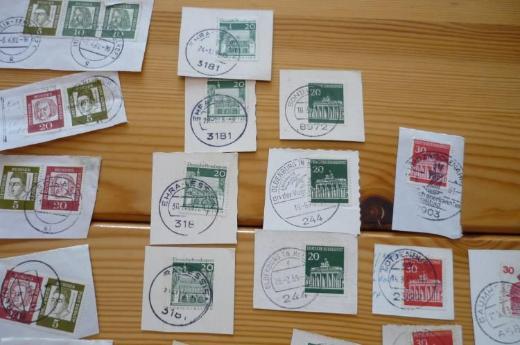 Briefmarken vom Bund (ab 1961)