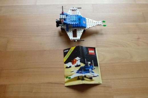 LEGO Raumfahrt 6890, 6842, 6880, 891, 6804, 6821, 886